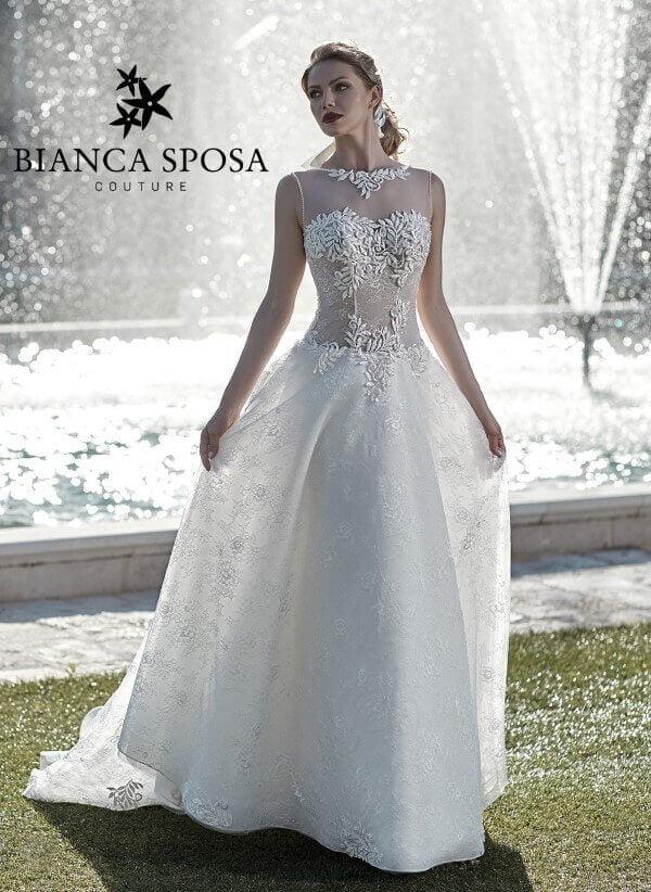 1511e465440c Bianca Sposa bridal 2018 - Domani mi sposo magazineDomani mi sposo ...
